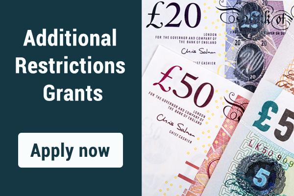 Additional restrictions grants - apply now