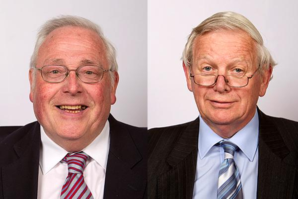 image of John Walker on the left and Neil Roberts on the right