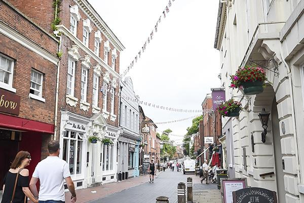 Image of Bird Street, Lichfield
