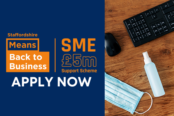 Staffordshire Means Back to Business. Apply now