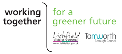 Tamworth and Lichfield joint waste service logo