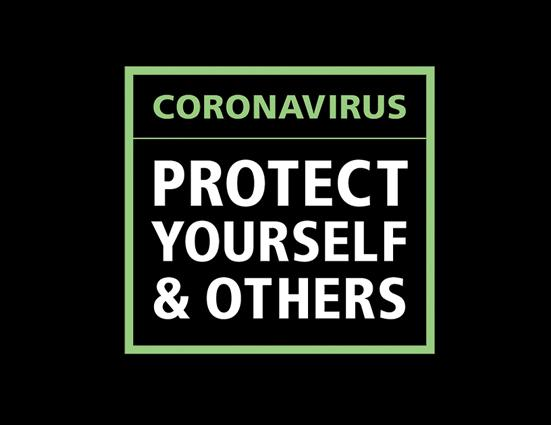 image that says protect yourself and others