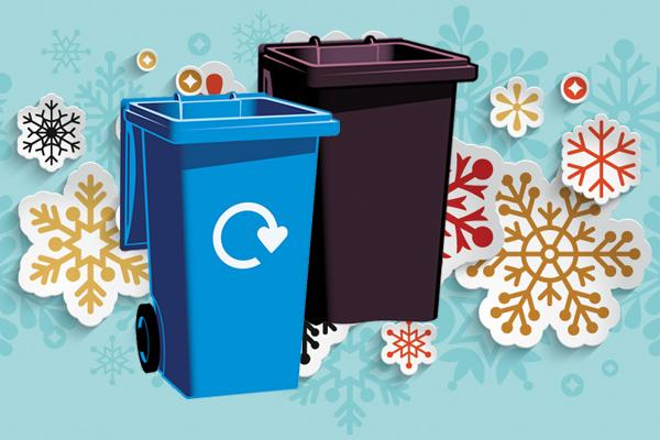 Xmas bin collections